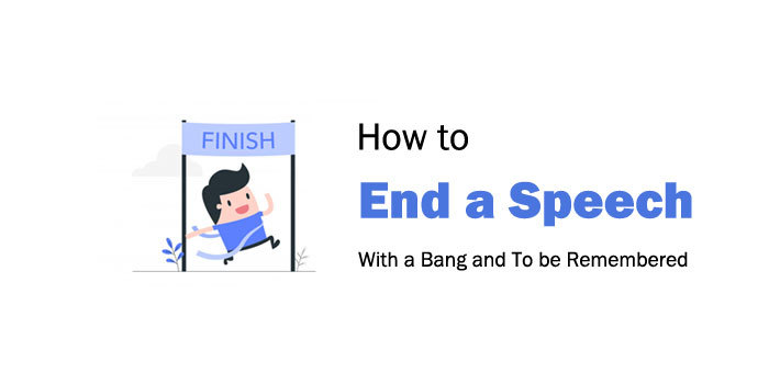 how to end a speech